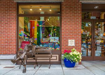 Villiage Bookstore in Bellingham Washington