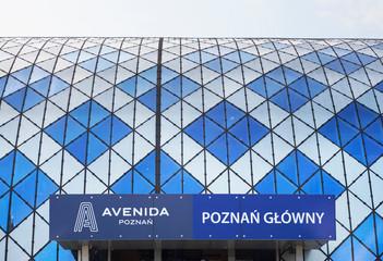 POZNAN. POLAND. 30 AUGUST 2019 : Railway station in Poznan. Poland