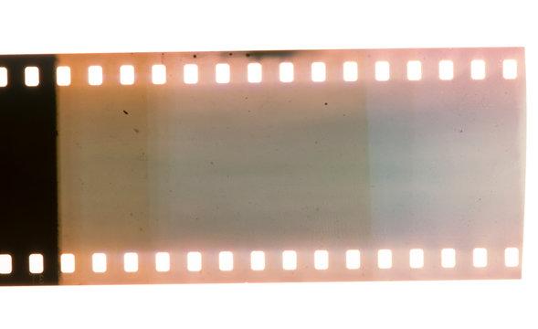 Old vintage film strip.Retro style