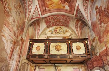 BLED. SLOVENIA. 05 MAY 2012 : Interior of Bled Castle (Blejski grad) in Bled. Slovenia