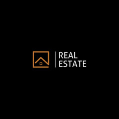 Illustration vector graphic of real estate logo. Real estate logo icon. Fit for real estate company, etc.
