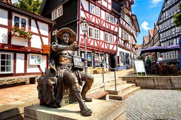 Wall Mural - Altstadt, Homberg Efze, Hessen, Deutschland