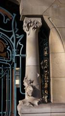 detail of a column