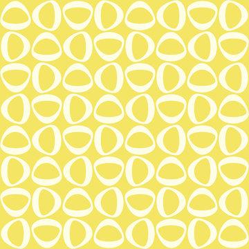 Midcentury geometric retro design. Timeless seamless pattern.