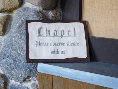 Abby of Genesee Chapel Sign