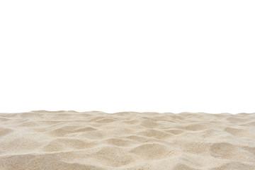 Fototapete - Sand isolated on white background