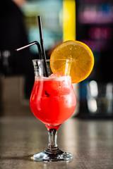 Photo sur Plexiglas Bar cocktail in the bar