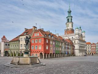 Fototapeta Polska Poznań Stary Rynek obraz