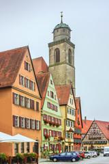 Wall Mural - Street in Dinkelsbuhl, Bavaria, Germany