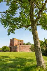 The ruin castle Teylingen in Sassenheim in the Netherlands