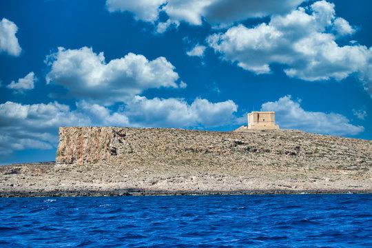 Malta mit Festung