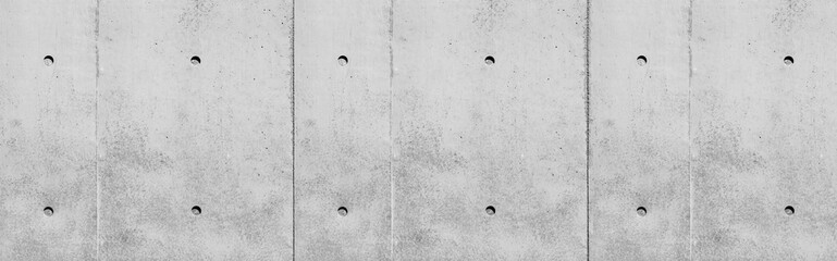 Panorama of Concrete wall texture and background
