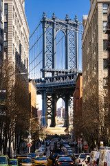 Wall Mural - DUMBO Point from brooklyn New york city