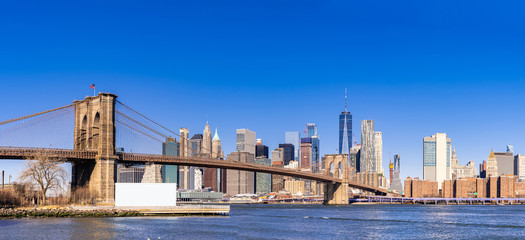 Printed kitchen splashbacks Brooklyn Bridge Brooklyn Bridge New York