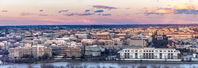 Wall Mural - Washington DC sunset