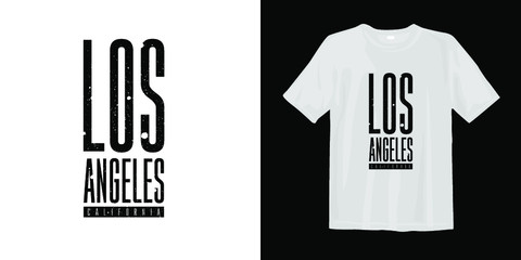 Los Angeles California graphic t-shirt Fototapete