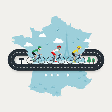 Tour de France, la grande boucle
