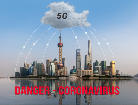 5G wireless networks have been accused in conspiracy theory of damaging immune system and causing coronavirus virus epidemic