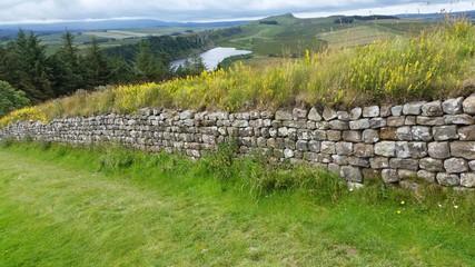 Pozostałości po Wale Hadriana w Anglii