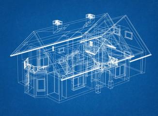 House Design blueprint