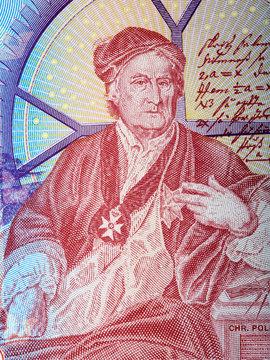 Christopher Polhem a portrait from Swedish money