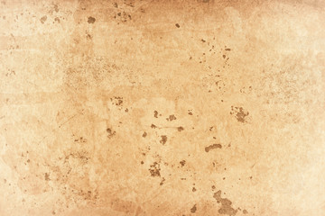 Wall Mural - light brown and beige vintage background texture with distressed rust grunge and old paint stains, antique grungy wall with textured cement pattern