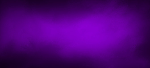 Wall Mural - Purple background with black border and bright center, blurred soft texture in elegant fancy website or paper design
