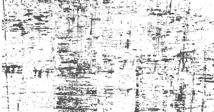 Abstract Dark Grunge texture on white background with scratches for your design. vector illustration