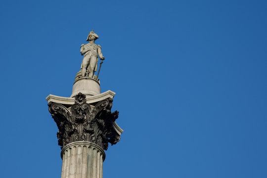 Nelson's Column, Trafalgar Square, London, UK