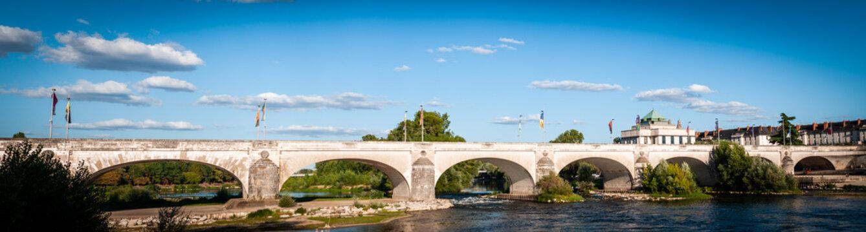 Wilson Stone Bridge, Tours, Touraine, France