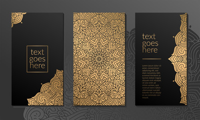 Luxury ornamental mandala background with arabic islamic east pattern style premium vector