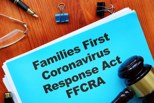 Conceptual photo showing printed text Families First Coronavirus Response Act FFCRA