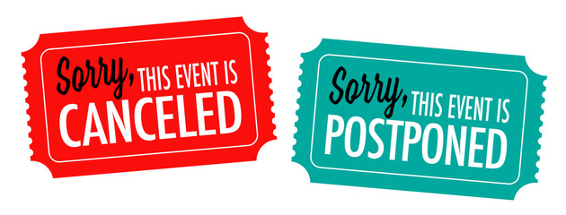 Sorry, this event is canceled or postponed on ticket