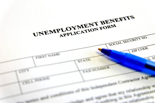 Unemployment Benefits Application Form