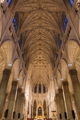 Wall Mural - St. Patrick's Cathedral Manhattan Landmarks New York City USA