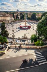 Piazza del Popolo / Rzym