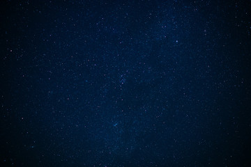 Stars in the night Galaxy  Background Fotobehang