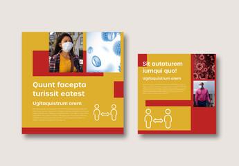 Public Safety Health Flyer Layout
