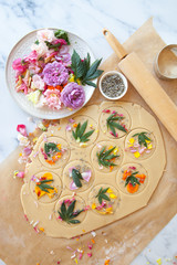 Cannabis-Pressed Shortbread Cookies