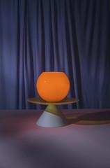 Stores à enrouleur Commemoratif Abstract Colorful Lamps/objects set ups