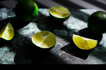 Cut Limes on Board