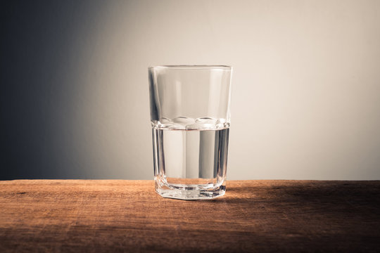 Glass Half Full Concept