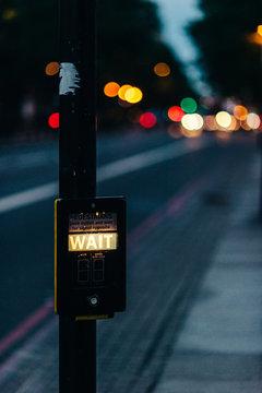 Crosswalk Signal Button