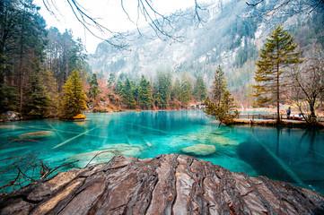 Blausee  - O lago mais azul da Suiça Fotomurales