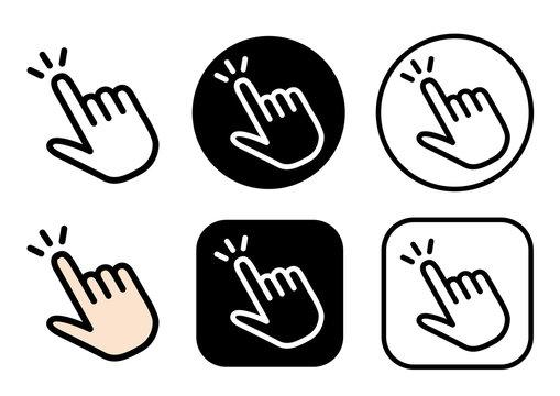 指マーク アイコン
