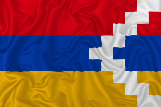 Republic of Artsakh flag