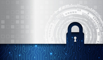 Data protection, privacy, and internet security concept. Cybersecurity for business and internet project. Vector illustration of a data security services.