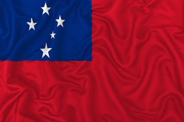 Samoa country flag