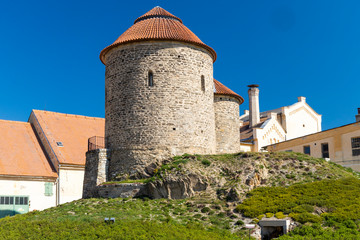 Fototapete - Rotunda of the Holy Catherine, Znojmo, South Moravia Czech Republic