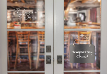 Restaurant and Bar Temporarily Closed